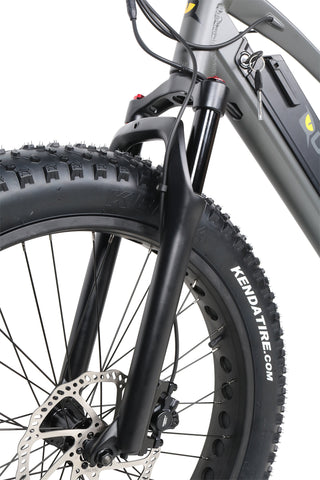 QuietKat Sequoia - Fat Tire Electric Mountain Bike