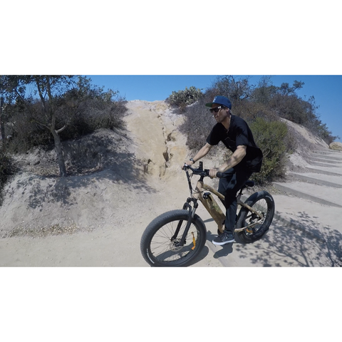 EMOJO Prowler - Electric Mountain Bike - On the trail