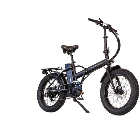 Black Joulvert Playa Desert - Folding Electric Bike - Front View