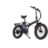Image of Black Joulvert Playa Desert - Folding Electric Bike - Front View