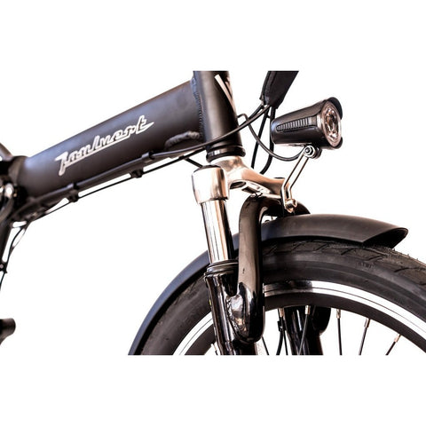 Joulvert Playa Journey - Folding Electric Bike - Front Light