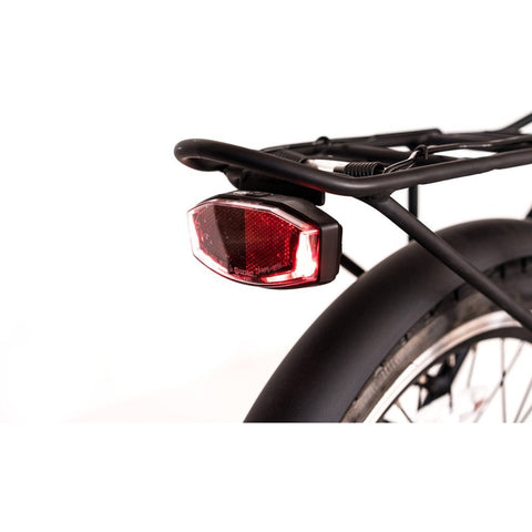Joulvert Playa Journey - Folding Electric Bike - Rear rack and light