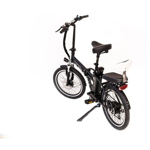 Joulvert Playa Journey - Folding Electric Bike - Rear View