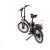 Image of Joulvert Playa Journey - Folding Electric Bike - Rear View