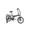 Image of Black Joulvert Playa Journey - Folding Electric Bike - Side View