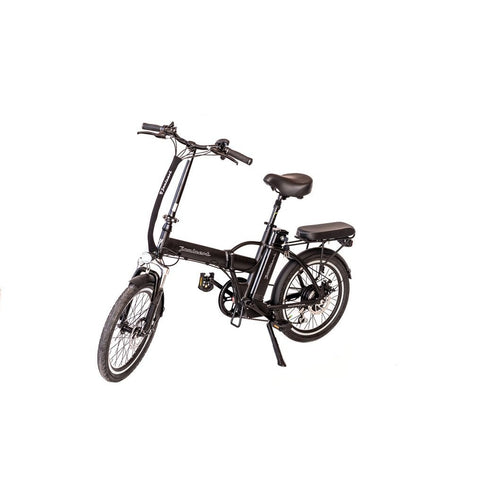 Black Joulvert Playa Journey - Folding Electric Bike - Front View