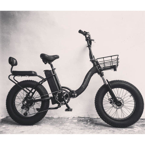 Joulvert Playa Voyager - Folding Electric Bike - In the studio