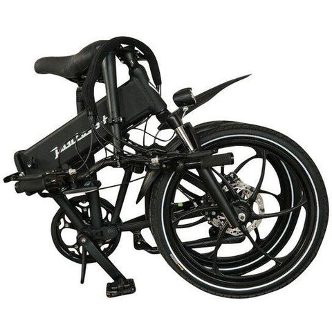 Joulvert Stealth - Folding Electric Bike - Folded