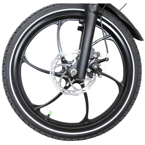 Joulvert Stealth - Folding Electric Bike - Front Wheel