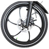 Image of Joulvert Stealth - Folding Electric Bike - Front Wheel