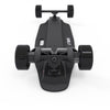 Image of Liftboard Single Motor Electric Skateboard - bottom view with all 4 wheels
