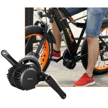 AddMotor Motan M5800 - Fat Tire Electric Bike - Pedals