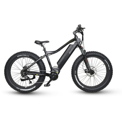 Black EMOJO Prowler - Electric Mountain Bike - Side View