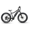 Image of Black EMOJO Prowler - Electric Mountain Bike - Side View