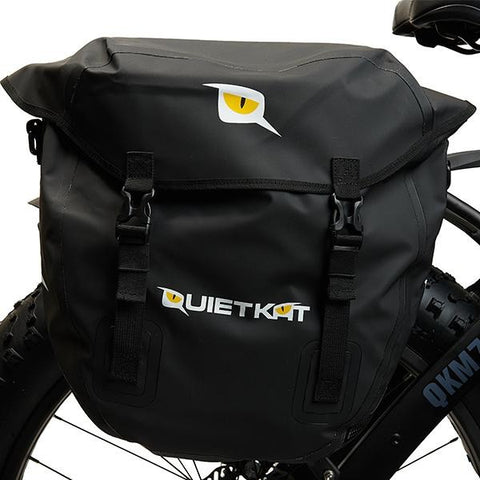 QuietKat - Pannier Bag Set - Side View of bag
