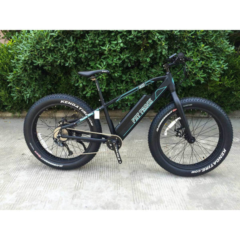 Phantom Bikes Fat Track - Fat Tire Electric Bike - Side View