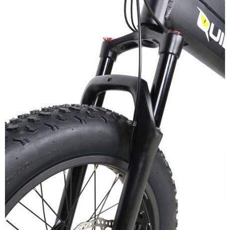 QuietKat Voyager - Electric Folding Mountain Bike - Front Wheel