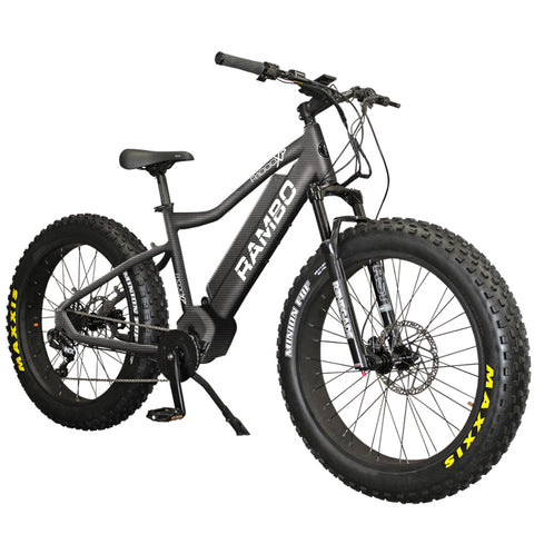 Rambo 1000W Xtreme - Fat Tire Electric Mountain Bike