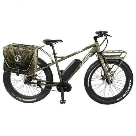 Rambo 750W NWTF Edition - Fat Tire Electric Mountain Bike - Side View