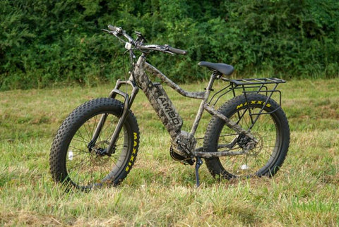 Rambo 750W XTreme Camo - Fat Tire Electric Mountain Bike
