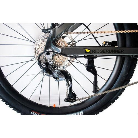 QuietKat Ridge Runner- Electric Mountain Bike - Gears