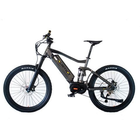 QuietKat Ridge Runner- Electric Mountain Bike - Side View
