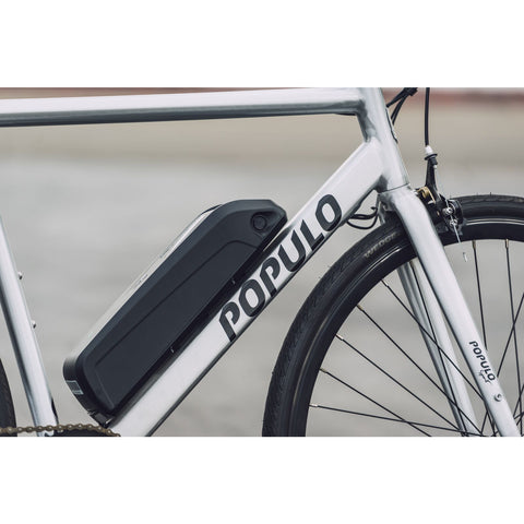 Populo Sport V3 Electric Commuter Bike - Battery