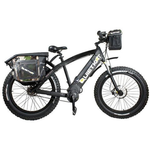 QuietKat - FatKat Handlebar Bag - On E-Bike