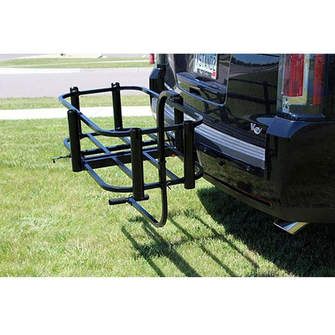 Rambo Bikes - Aluminum Fishing Cart - Attached to back of car