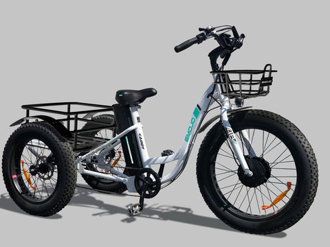 EMOJO Caddy Trike - Electric Cruiser Bike