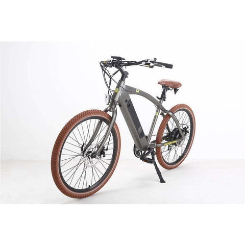 Grey Bat-Bike Bat Cruiser Electric Bike - Side View