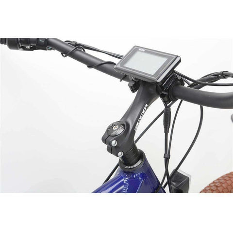 Blue Bat-Bike Bat Cruiser Electric Bike - Handle bar