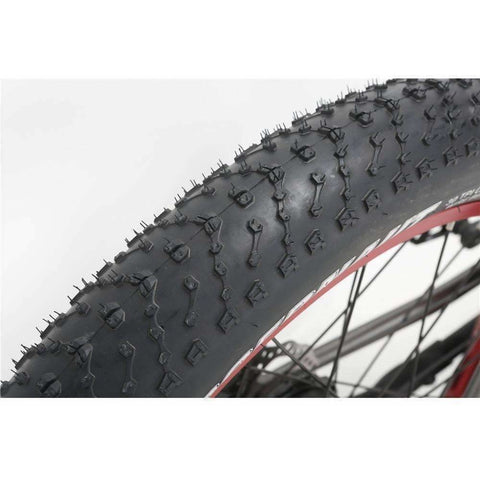 Grey Bat-Bike Big Foot - Fat Tire Electric Bike - Tire