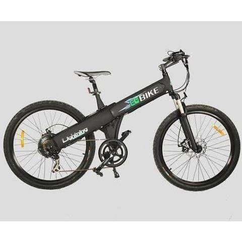 Black E-GO Flash-Electric Bike Commuter 500w/36v - Side View