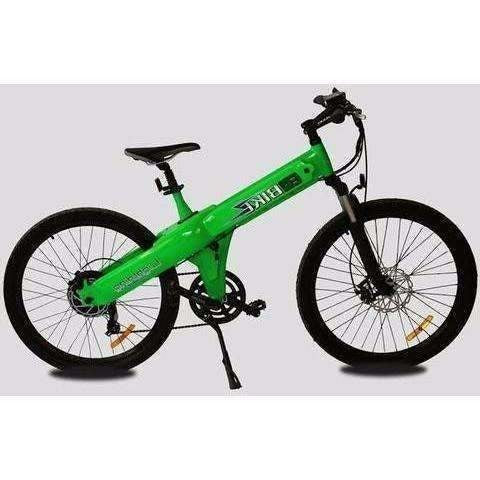 Green E-GO Flash-Electric Bike Commuter 500w/36v- Side View