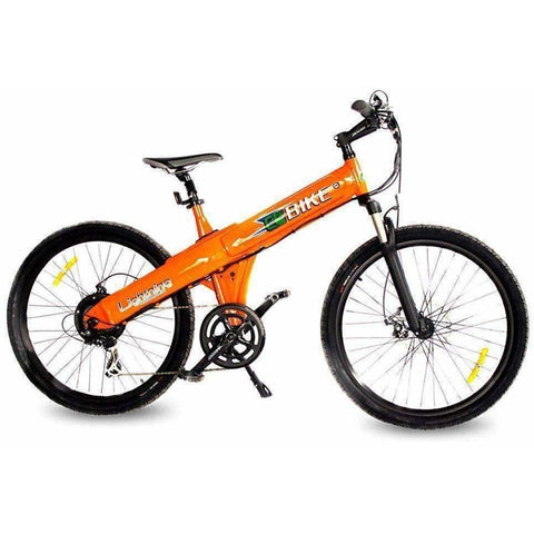 Orange E-GO Flash-Electric Bike Commuter 500w/48v - Side View