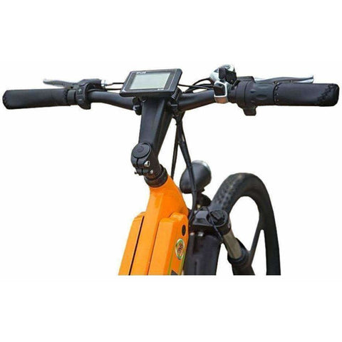 Orange E-GO Flash-Electric Bike Commuter 500w/48v - handles