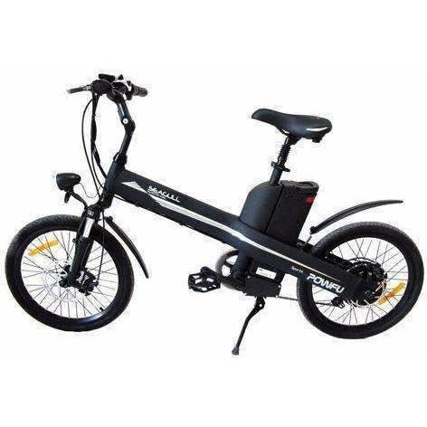 Black E-GO Seagull-Commuter Electric Bike 350w/36v - Side View