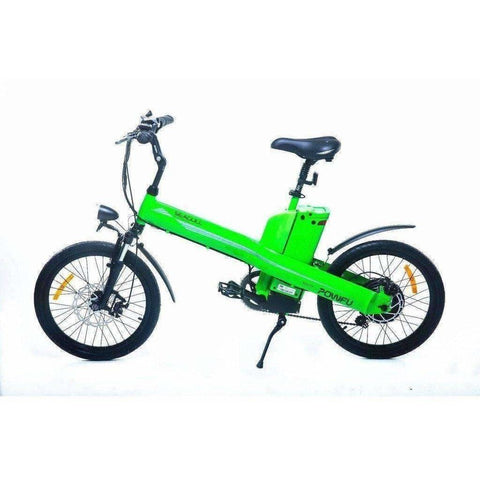 Green E-GO Seagull-Commuter Electric Bike 350w/36v - Side View