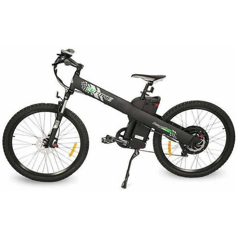 Black E-GO Seagull-Electric Mountain Bike 1000w/48v - Side View
