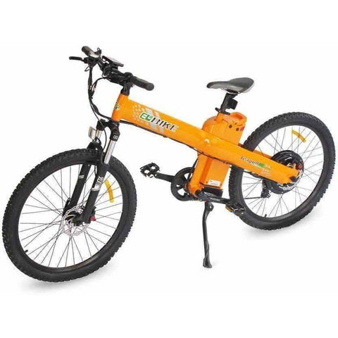 Orange E-GO Seagull-Electric Mountain Bike 1000w/48v - Side View