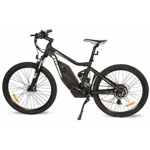 Black E-GO Tronada-Electric Mountain Bike 500w/48v - Side View