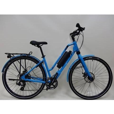 Blue Emazing Selene 73h3h Electric Commuter Bike - Side View