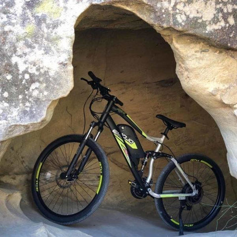 EMOJO Cougar - Electric Mountain Bike - In Cave