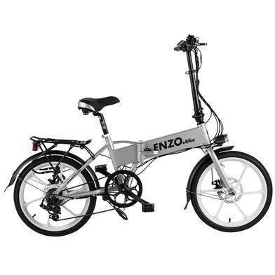 Grey Enzo EBikes - Folding Electric Bike