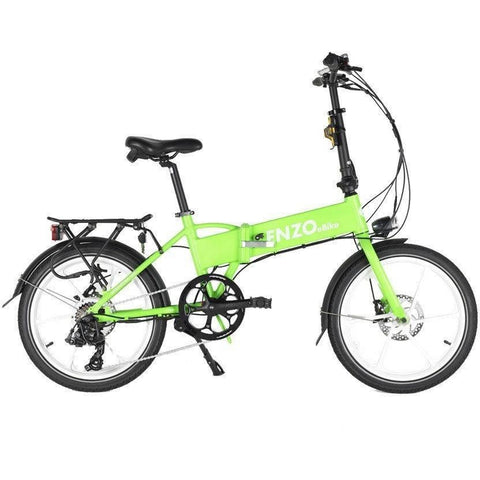 Green Enzo EBikes - Folding Electric Bike