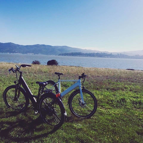 Espin Flow - Electric Bike Commuter - On Trail