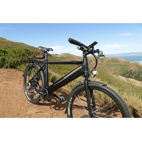 Black Espin Sport - Electric Bike - On Trail