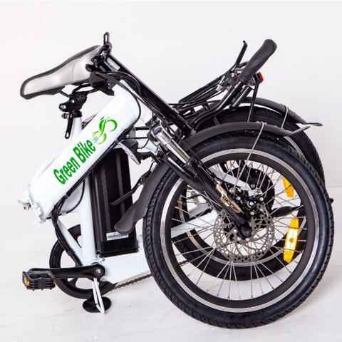 Green Bike USA GB1 - Folding Electric Bike - Folded