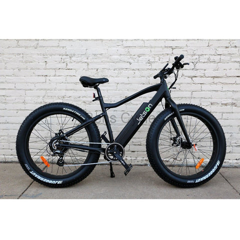 Jetson Electric Bike - FatTire - On the Street